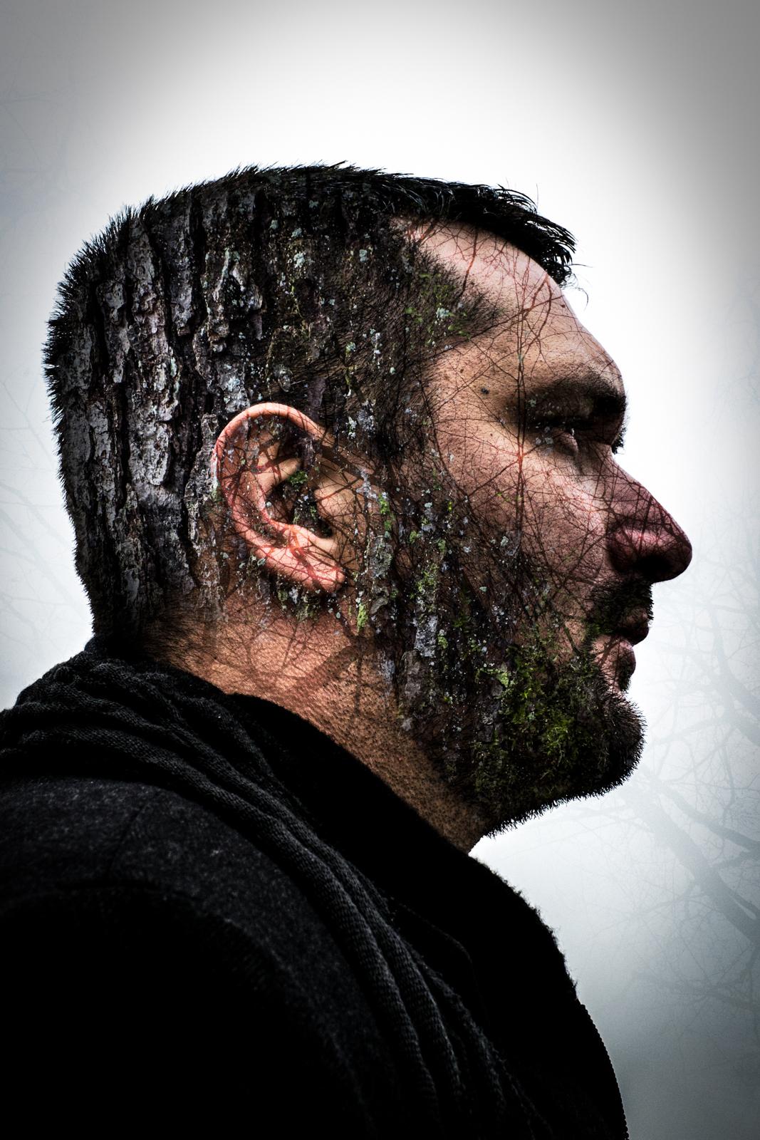 Portrait of a painter Boris Eremic